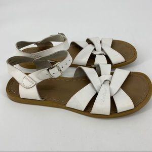 Salt Water Sandals Hoy Classic White Leather Adult